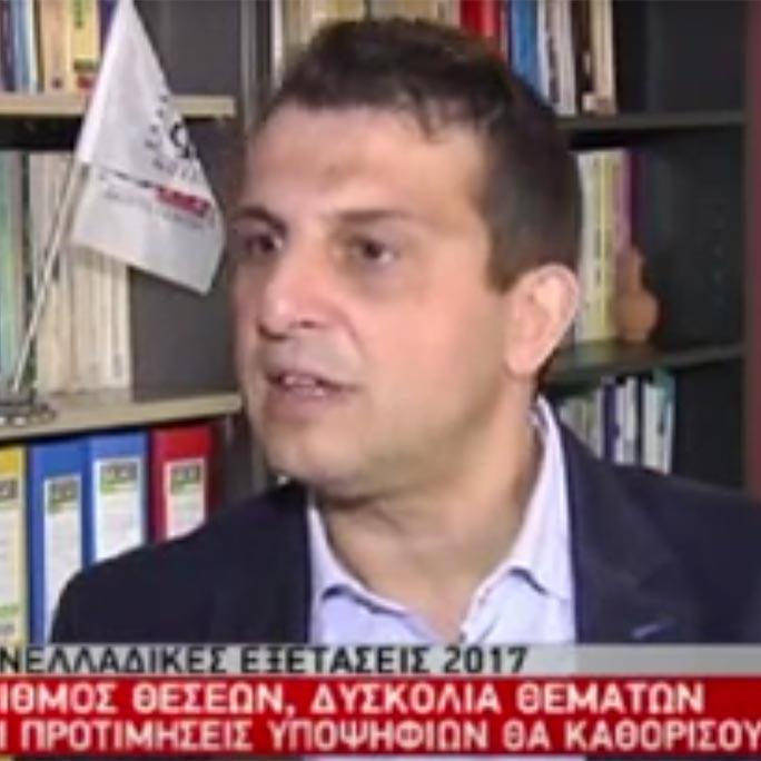 Δήλωση του Γ. Βαφειαδάκη για τις φετινές Πανελλαδικές