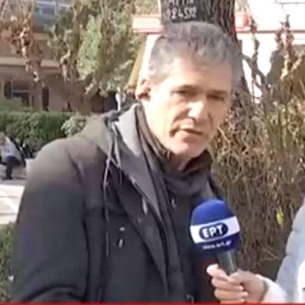Ο Μπάμπης Νικολάου στην ΕΡΤ1
