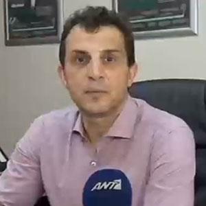 Ο Γιάννης Βαφειαδάκης στον ΑΝΤ1