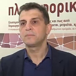 Ο Γ.Βαφειαδάκης στην ΕΡΤ1